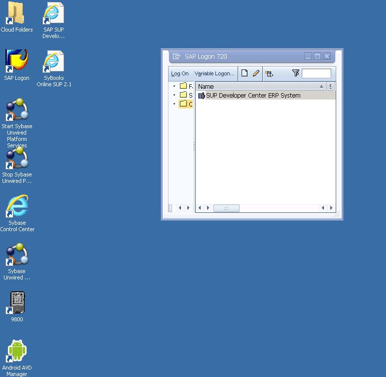 SUP Cloud Desktop